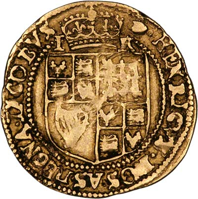 Reverse of James I Britain Crown