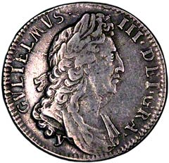 Shilling of William III