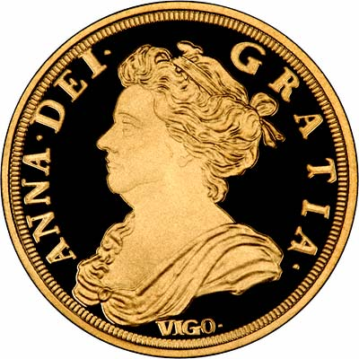 Obverse of 1746 George II Crown