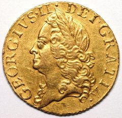Half Guinea of George II