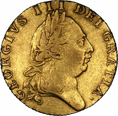 Obverse of 1788 Guinea