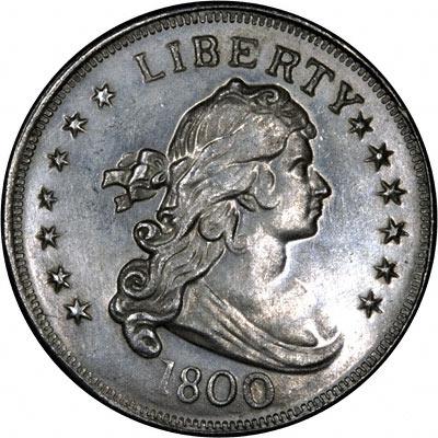 1800 Silver Dollars