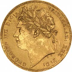 Sovereign of George IV