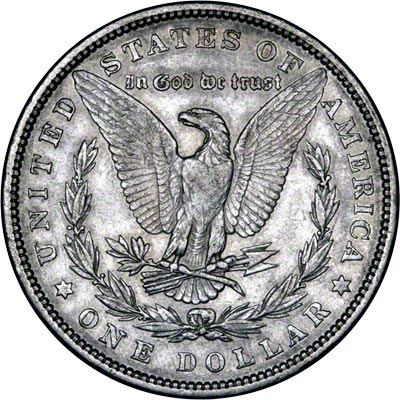 American silver dollars morgan type