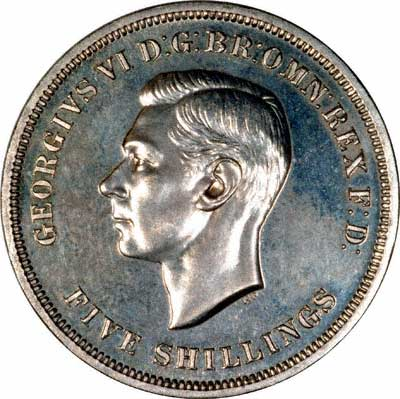 Obverse of 1951 Crown