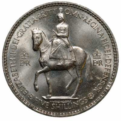 Obverse of the 1953 Coronation Crown