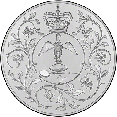 1977 Crown Commemorating the Silver Jubilee of Queen Elizabeth's Coronation