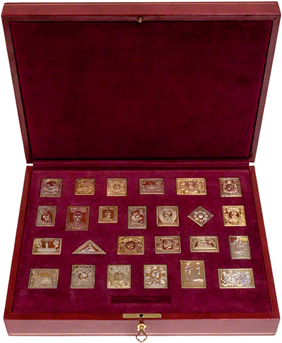 Gold Replica Stamps Stamp Replicas Collection