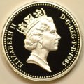 Third Portrait on Obverse of 1985 Pound Coin