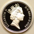 Third Portrait on Obverse of 1988 Pound Coin