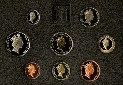 Obverse of the 1995 Proof Set