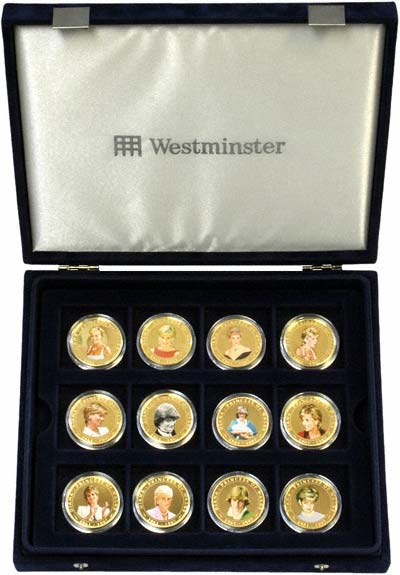 Diana Princess Of Wales Photographic Coin Collection