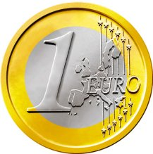 Common Reverse of the 1 Euro Coin