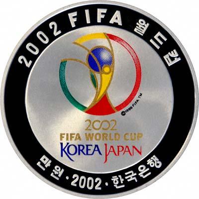 2002 South Korea 10 000 Won Fifa World Cup Football Coin