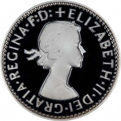 Obverse of 2006 Maundy Fourpence