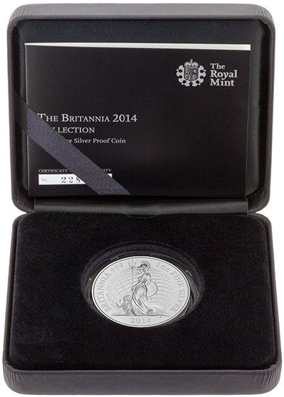 2014 Proof Britannia in Presentation Box