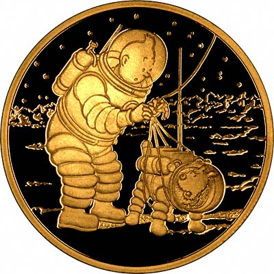 The Twelve Adventures of Tintin Explorers on the Moon