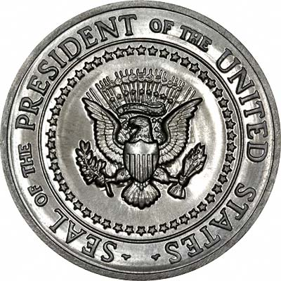 White House - President's Seal Silver Medallion
