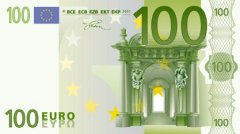 Front of 100 Euro Banknote