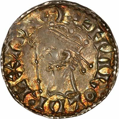 Obverse of Harold II Silver Penny