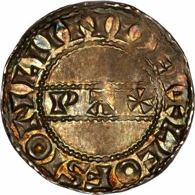 Reverse of Harold II Silver Penny