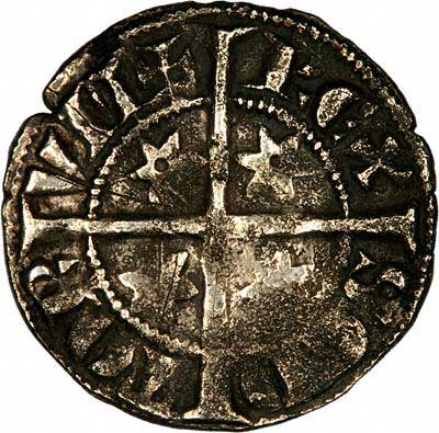 Reverse of 1280 Scottish Silver Penny