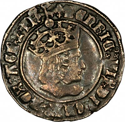 Obverse of Henry VII Groat
