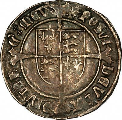 Reverse of Henry VII Groat