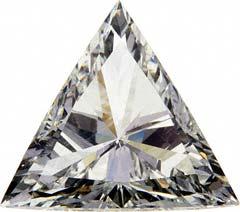 Triangle Shaped Diamond