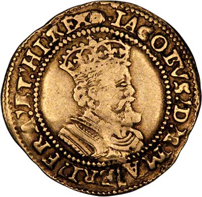 Obverse of James I Britain Crown