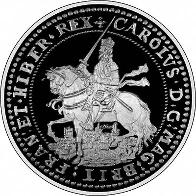 Obverse of 'The Charles I Oxford Crown'