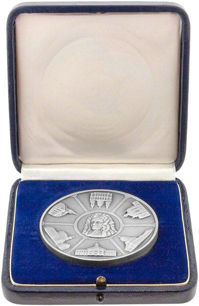 Silver Medallion in Presentation Box