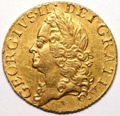 Half Guinea of George II