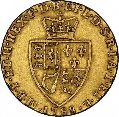 Reverse of 1788 Guinea