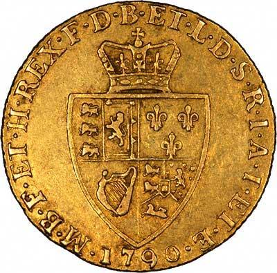 Reverse of 1790 Guinea