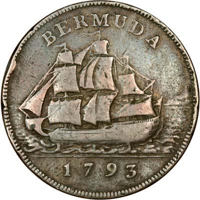 Obverse of 1977 Silver Jubilee Bermuda $25 Silver Proof