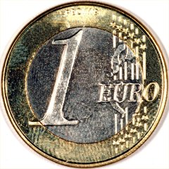 Reverse of '1794' 1 Euro Pattern Coin