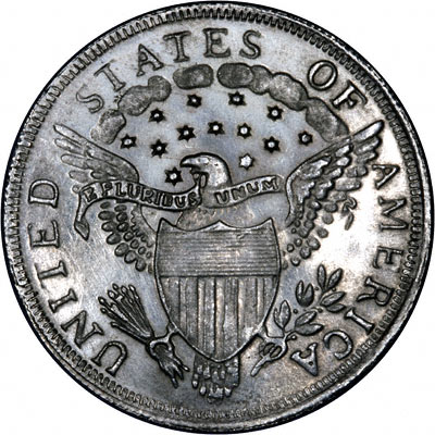 1800 Fake US Silver Dollar