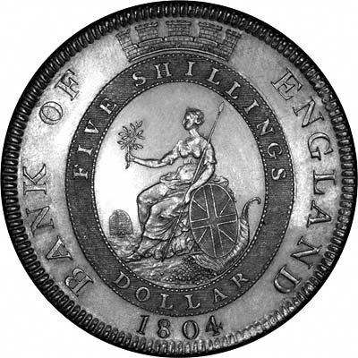 Reverse of 1820 George III Crown