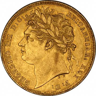 1824 George III Obverse