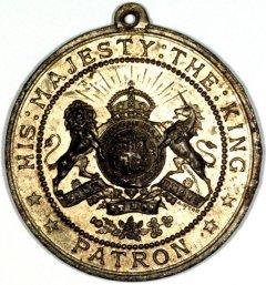 Reverse of Hampshire Friendly Society Medallion