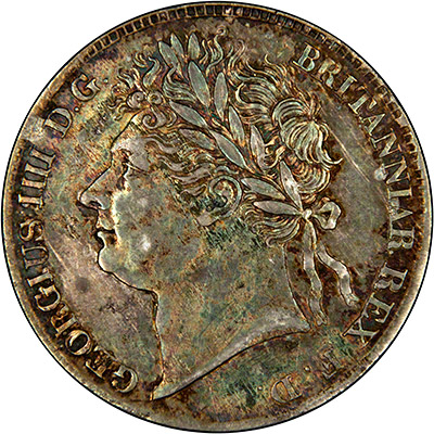 Obverse of 1830 Maundy Fourpence