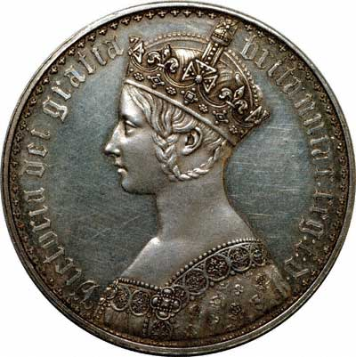 Victoria Crown in Extremely Fine Condition