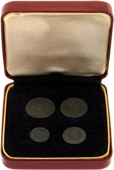 1854 Maundy Set in Presentation Box
