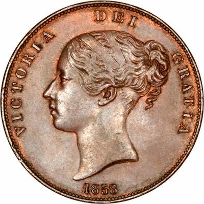 1858 Pennies