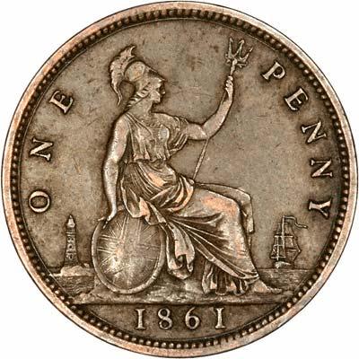 1861 Pennies