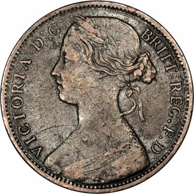 Obverse of 1862 Penny