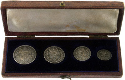 1865 Maundy Set in Presentation Box