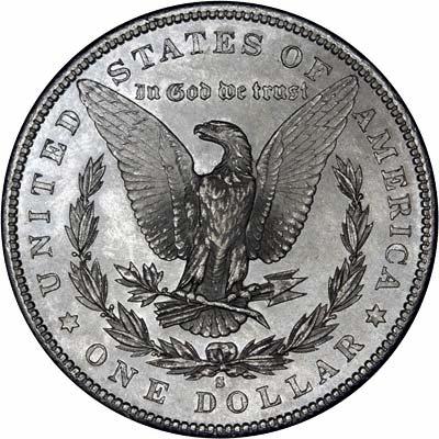 1881 American Silver Dollars Morgan Type