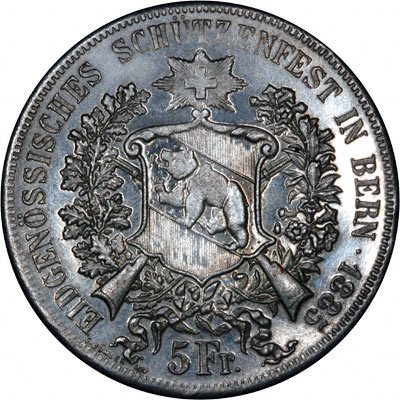 1885 Swiss Fake